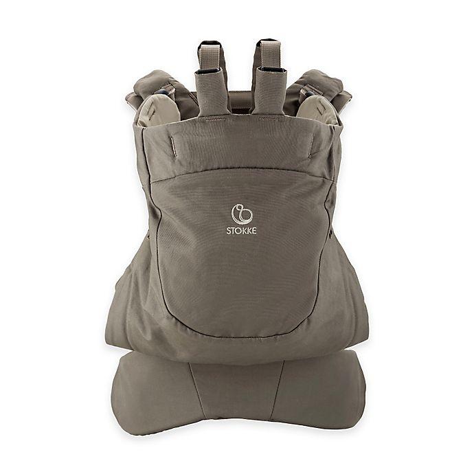 Alternate image 1 for Stokke® MyCarrier™ Front Baby Carrier in Brown