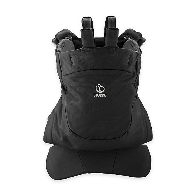 Alternate image 1 for Stokke® MyCarrier™ Front Baby Carrier in Black