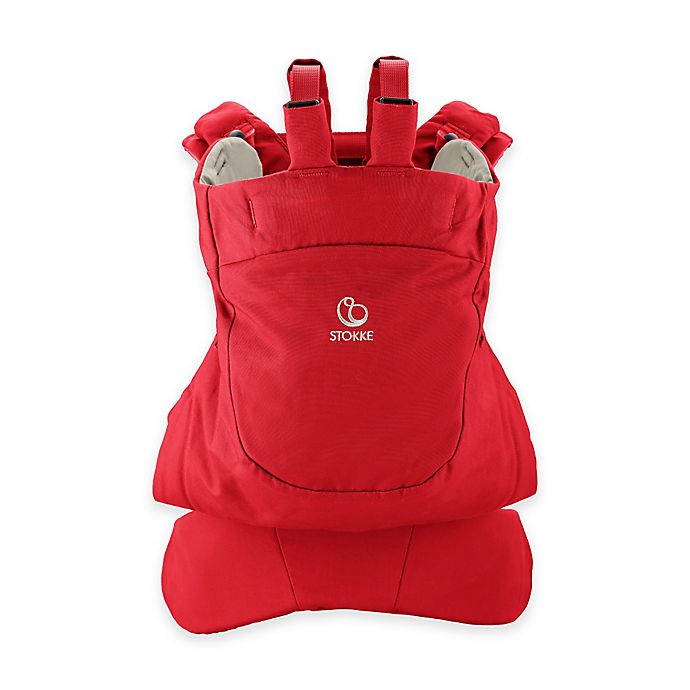 Alternate image 1 for Stokke® MyCarrier™ Front Baby Carrier in Red