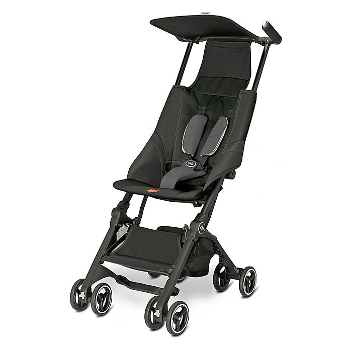 Alternate image 1 for GB Pockit Stroller in Monument Black