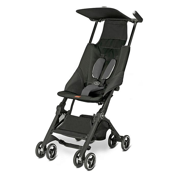Alternate image 1 for GB Pockit Stroller in Monument Black