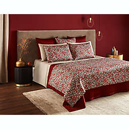 Frette At Home Vertical King Coverlet in Cinnamon