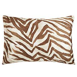 Frette At Home Safari King Pillow Sham in Caramel