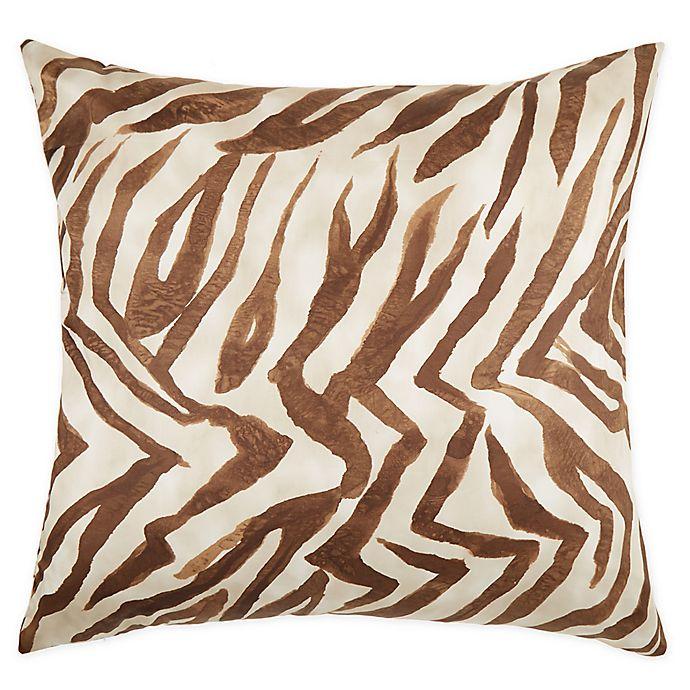 Alternate image 1 for Frette At Home Safari European Pillow Sham in Caramel