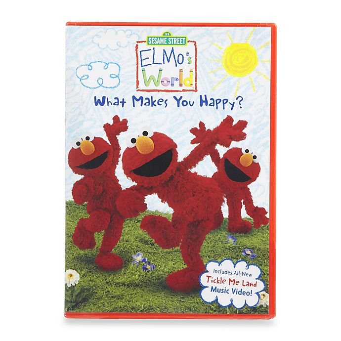 Sesame Street Elmo S World In What Makes You Happy Dvd