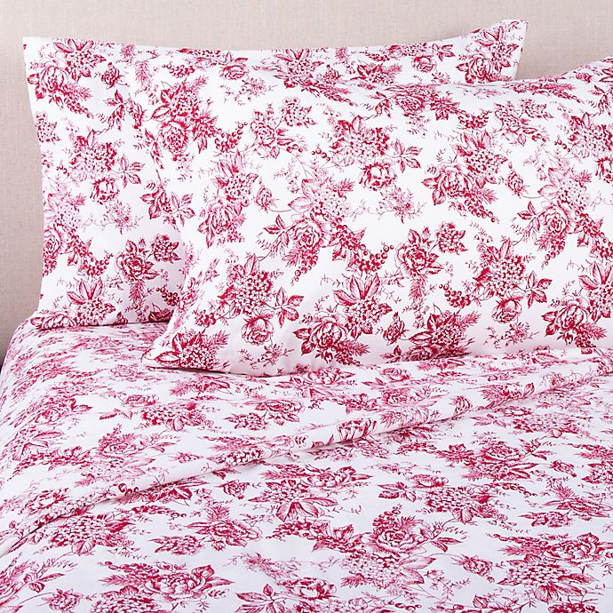 Bee Willow Home Floral Flannel Pillowcase Bed Bath Beyond
