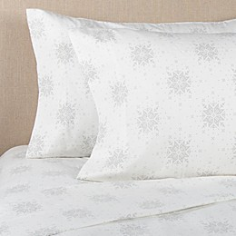 Bee & Willow™ Home Snowflake Flannel Pillowcase