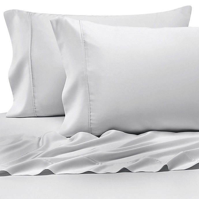 Alternate image 1 for Pure Beech® 400-Thread-Count Modal® Sateen Pillowcases in White (Set of 2)