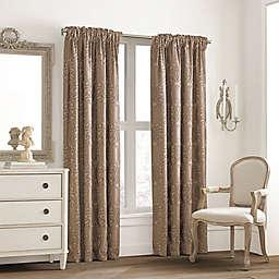 Valeron Glenview Room Darkening Rod Pocket with Pencil Pleat Window Curtain Panel (Single)