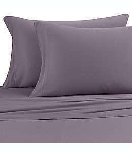 Fundas king de jersey de modal para almohadas Pure Beech® color gris carbón, Set de 2 piezas