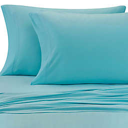 Pure Beech® Jersey Knit Modal Queen Sheet Set in Aqua