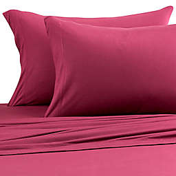 Pure Beech® Jersey Knit Modal King Pillowcases in Burgundy (Set of 2)