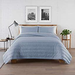 Pure Beech® Jersey Knit Modal 3-Piece King Comforter Set in Heather Blue