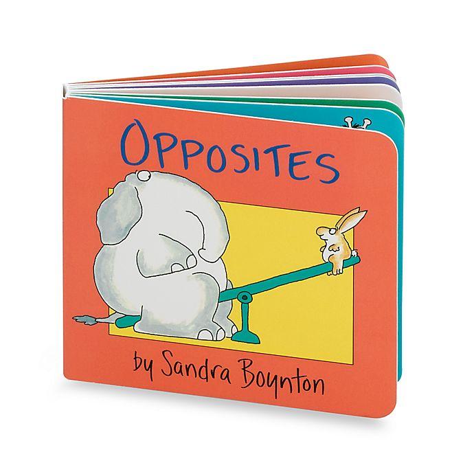 Alternate image 1 for Opposites Book