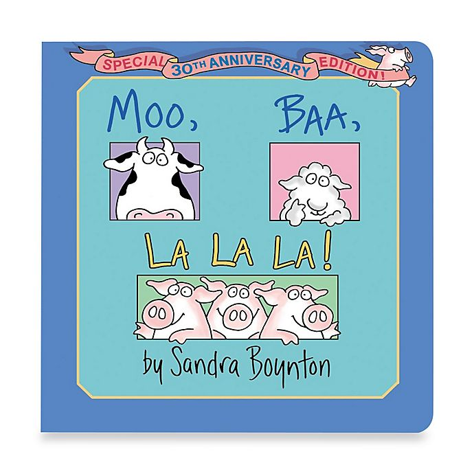 Alternate image 1 for Moo Baa LaLa Book by Sandra Boynton