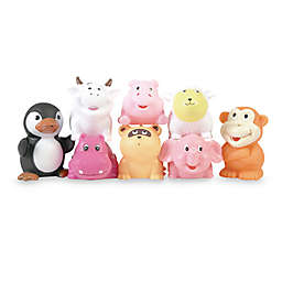 Elegant Baby® 8-Pack Animal Party Bath Squirties