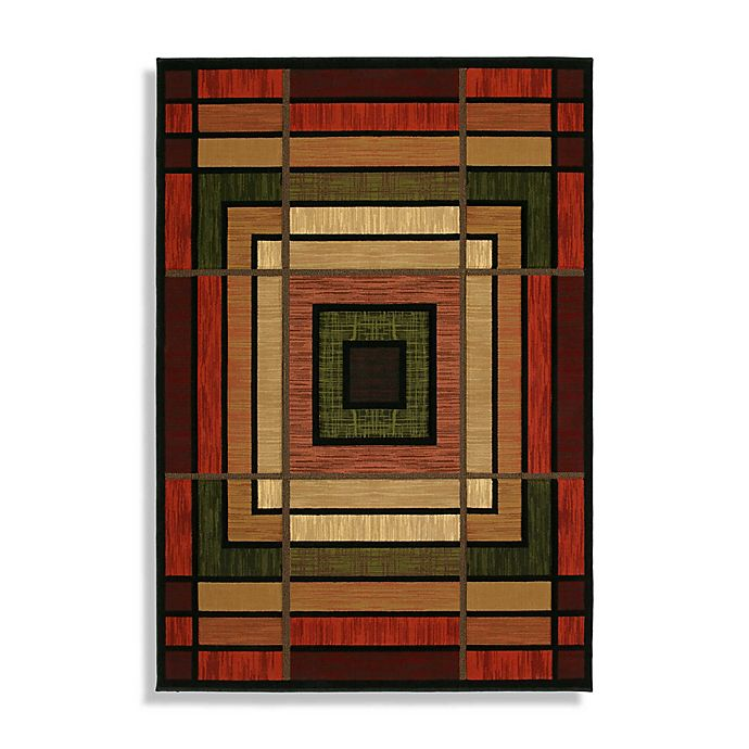Alternate image 1 for Ambience Terracotta Rug