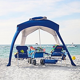 Rio 5-Foot Umbrella Cabana in Blue