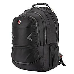 DUKAP® Navigator 18-Inch Executive Backpack in Black