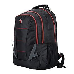 DUKAP® Disruptor 18-Inch Executive Backpack in Black