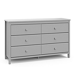 Storkcraft™ Alpine 6-Drawer Double Dresser
