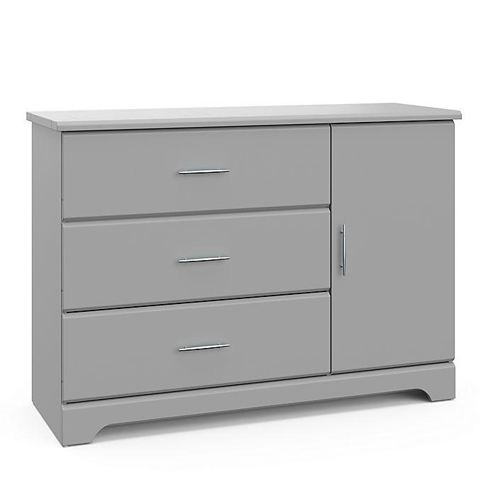 Alternate image 1 for Storkcraft Brookside 3-Drawer Combo Dresser in Espresso