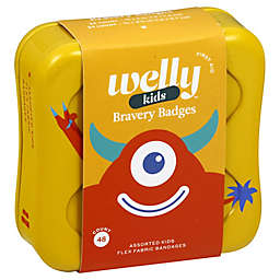 Welly™ Bravery Badges 48-Count Standard Flex Fabric Assorted Monster Bandages