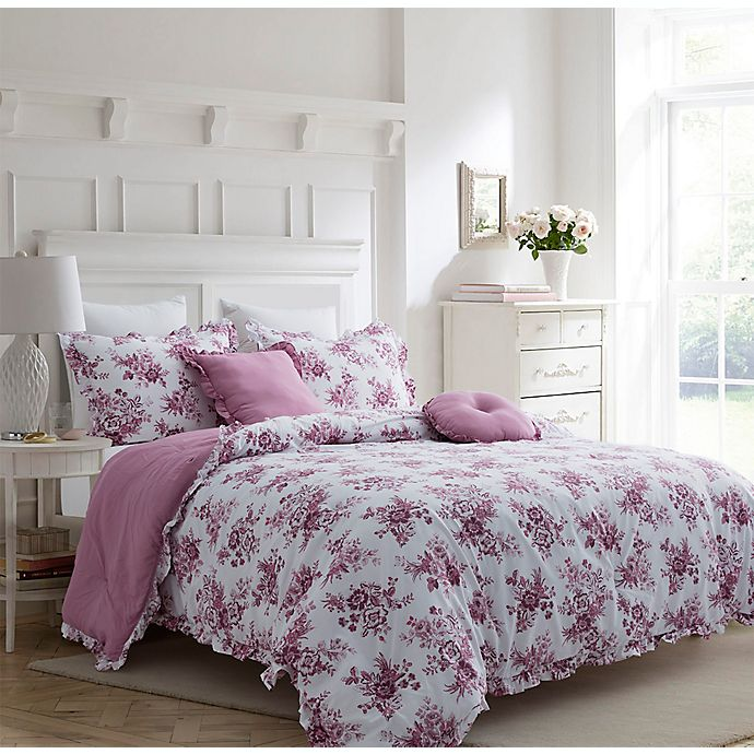 Alternate image 1 for Carole Hochman Damask 5-Piece Comforter Set