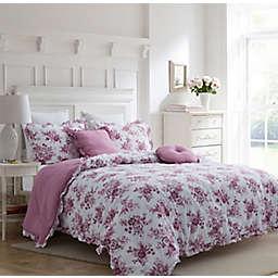 Carole Hochman Damask 5-Piece Comforter Set