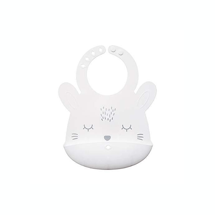 Alternate image 1 for Tiny Twinkle® Silicone Bunny Bib