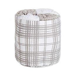 Winter Wonderland Xmas Plaid Wash Towels (Set of 4)