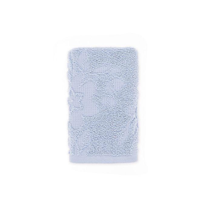 Alternate image 1 for Bee & Willow™ Cedar Hand Towel in Dusty Blue