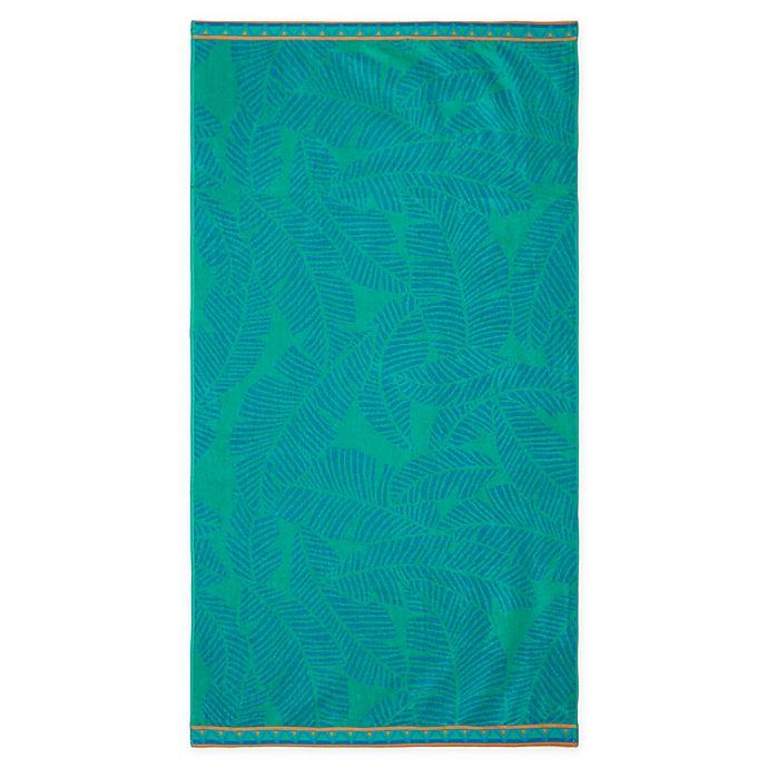 Alternate image 1 for Destination Summer Tropical Leaf Beach Towel