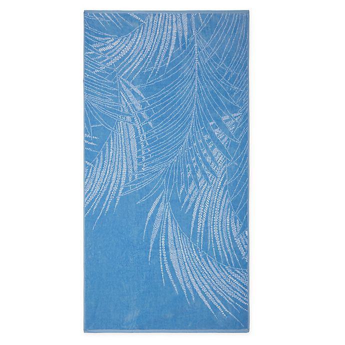 Alternate image 1 for Destination Summer Dotted Leaf Beach Towel