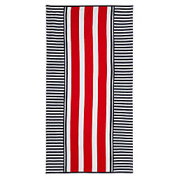 Destination Summer Cape Stripe Beach Towel