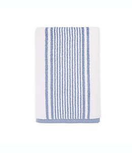 Toalla de medio baño de algodón  Bee & Willow™ Carlyle color azul desteñido