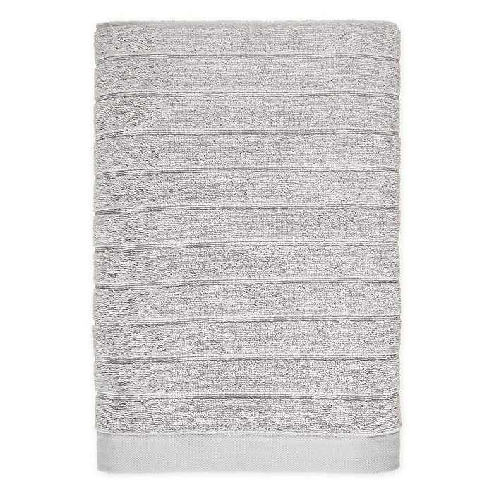 Alternate image 1 for Simply Essential™ XXL Cotton Bath Sheet in Grey