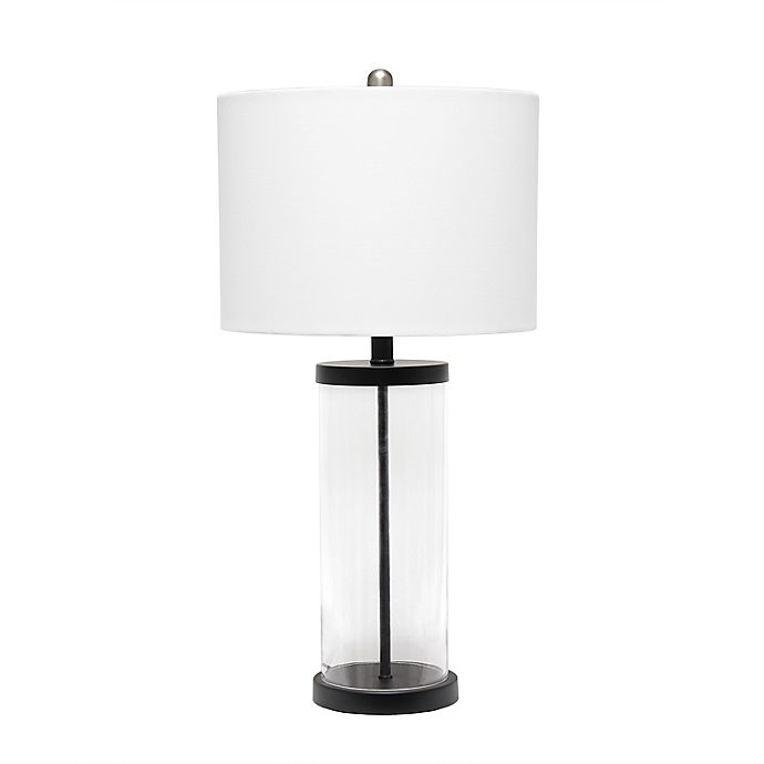 Alternate image 1 for Entrapped Glass Table Lamp with Shade