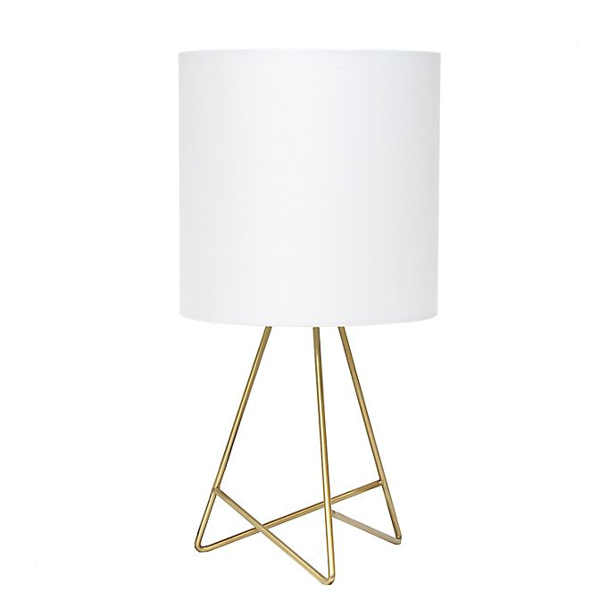 Alternate image 1 for Tripod Table Lamp with Shade