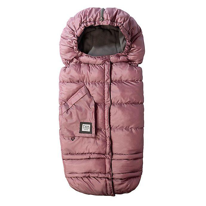 Alternate image 1 for 7AM® Enfant Blanket 212 Evolution® Extendable Footmuff w/Fleece Lining Metallic Lilac