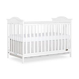 Dream on Me Bella Rose 3-in-1 Convertible Crib in White