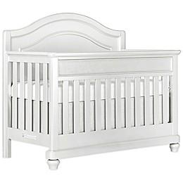 évolur Glam 5-in-1 Convertible Crib in Silver/Pearl