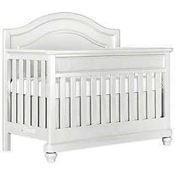 évolur Glam 5-in-1 Convertible Crib in Silver/Pearl