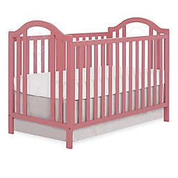 sweetpea baby Pacific 3-in-1 Convertible Crib in Dusty Rose