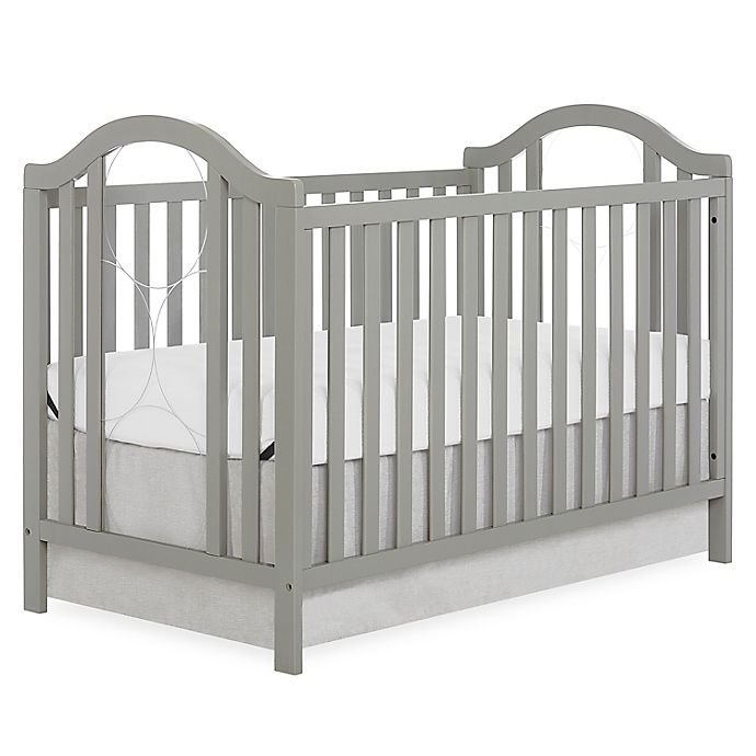 Alternate image 1 for sweetpea baby Pacific 3-in-1 Convertible Crib