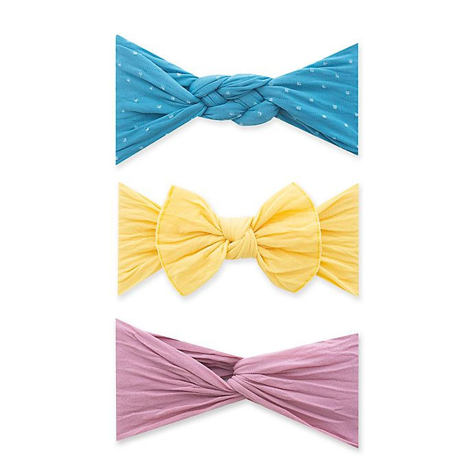 Alternate image 1 for Baby Bling 3-Pack The Three Amigas Headbands