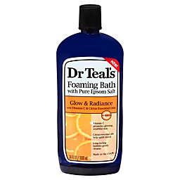 Dr. Teal's® 34 oz. Glow & Radiance Foaming Bath with Pure Epsom Salt