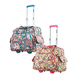 Olympia® 17-Inch Deluxe Fashion Rolling Overnighter