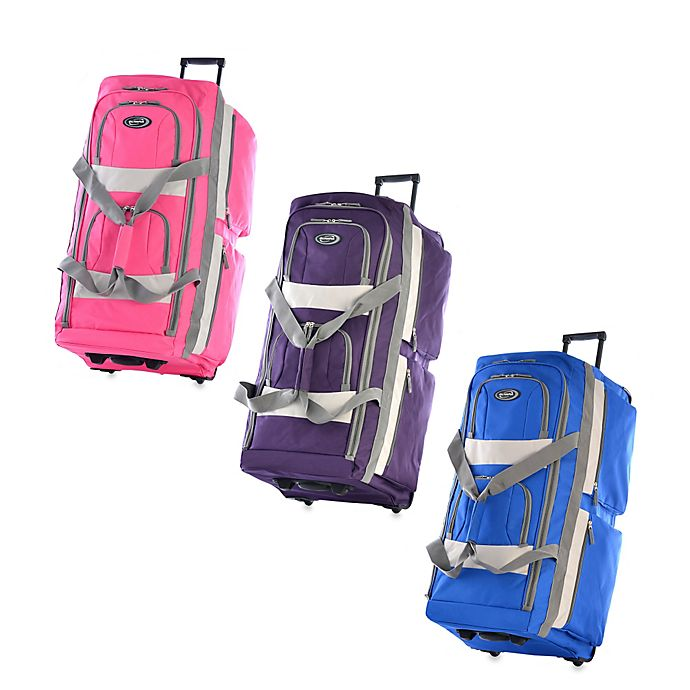 Alternate image 1 for Olympia® 29-Inch 8-Pocket Rolling Duffle