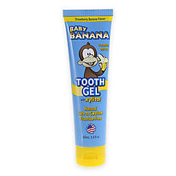 Baby Banana 2.4 oz.Tooth Gel in Strawberry Banana